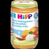 Bild: HiPP Zartes Rahmgemüse mit Kartoffeln und Schollen-Filet