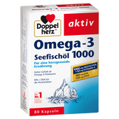 Bild: DOPPELHERZ Seefischöl Omega-3 Kapseln