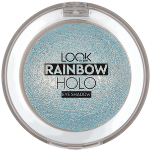 Bild: LOOK BY BIPA Rainbow Holo Eye Shadow floating bubbles