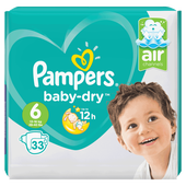 Bild: Pampers Baby-Dry Gr. 6 (13-18kg) Value Pack