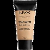 Bild: NYX Professional Make-up Stay Matte But Not Flat Liquid Foundation nude