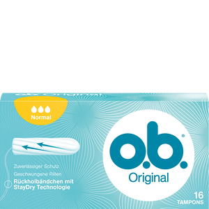 Bild: o.b. Original Tampons normal