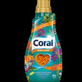Bild: Coral Colorwaschmittel Secret Garden