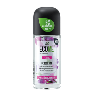 Bild: ECOME my lovely deo Deodorant Roll-on Floral