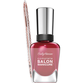 Bild: Sally Hansen Complete Salon Manicure Nagellack + Armkettchen red-handed