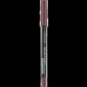 Bild: Catrice Velvet Matt Lip Pencil Colour & Contour mauve in the brown direction