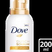 Bild: Dove Duschschaum mit Arganöl