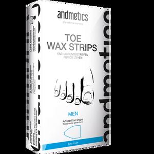 Bild: andmetics Enthaarungsstreifen für die Zehen