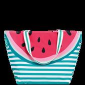 Bild: LOOK BY BIPA Badetasche Wassermelone