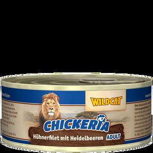 Bild: Wildcat Chickeria Huhn Heidelbeeren