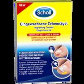 Bild: Scholl Eingewachsene Zehennägel Clips & Spray