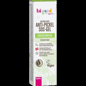 Bild: bi good Natürliches Anti-Pickel SOS-Gel Gänseblümchen