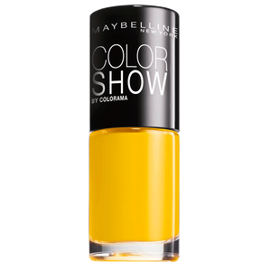 Bild: MAYBELLINE Colorshow Nagellack electric yellow