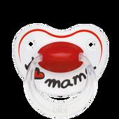Bild: Bibi Beruhigungssauger I Love Mama 16+ Monate