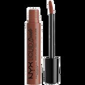 Bild: NYX Professional Make-up Liquid Suede Cream Lipstick sandstorm