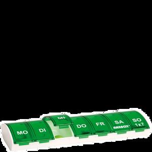 Bild: FRÜHWALD Medikamentenbox ganze Woche Grün grün
