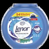 Bild: Lenor 3in1 Pods Vollwaschmittel Weiße Wasserlilie