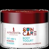 Bild: AFRODITA Cosmetics Suncare Body Yogurt After-Sun-Hautpflege