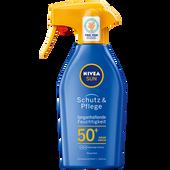 Bild: NIVEA Sun Schutz & Pflege Sonnenspray LSF 50+