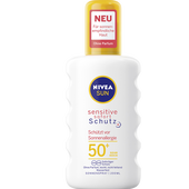 Bild: NIVEA Sun Sensitiv Sofort Schutz Spray LSF 50+