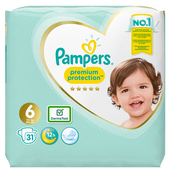 Bild: Pampers Premium Protection Gr. 6 (13+kg) Value Pack
