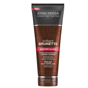 Bild: JOHN FRIEDA Brilliant Brunette Deeper Glow  farbvertiefender Conditioner
