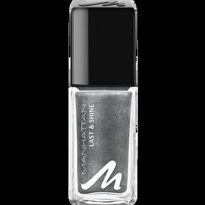Bild: MANHATTAN Last & Shine Nail Polish silver chrome