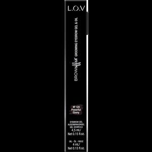 Bild: L.O.V BROWAFFAIR Grooming Eyebrow Gel & Oil 120 powerful ebony