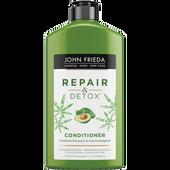 Bild: JOHN FRIEDA Repair & Detox Conditioner Avocado-Öl + Grüner Tee