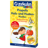 Bild: Zirkulin Kinder Propolis Hals- und Husten Pastillen