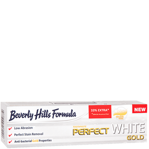Bild: Beverly Hills Formula Perfect White Gold Zahncreme