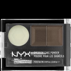 Bild: NYX Professional Make-up Eyebrow Cake Powder dark brown/brown