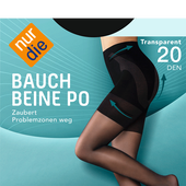 Bild: nur die Bauch-Beine-Po Strumpfhose 20 DEN schwarz