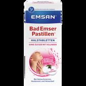 Bild: Emsan Bad Emser Pastillen ohne Zucker mit Holunder
