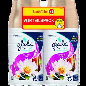 Bild: Glade Automatic Spray Nachfüller Relaxing Zen Doppelpack