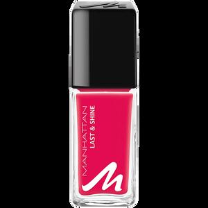 Bild: MANHATTAN Last & Shine Nagellack pink-holic