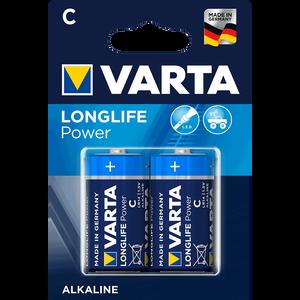 Bild: Varta Alkaline Longlife Power C