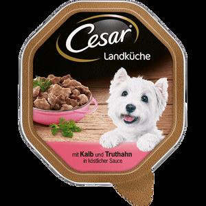 Bild: Cesar Landküche Cesar mit Kalb und Truthahn in köstlicher Sauce