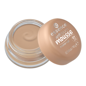 Bild: essence Soft Touch Mousse Make Up matt sand