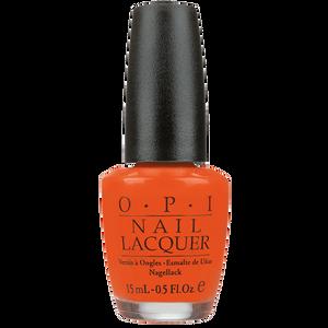 Bild: O.P.I Nail Lacquer atomic orange