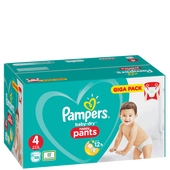 Bild: Pampers Baby-Dry Pants Gr. 4 Giga Pack