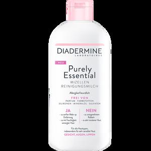 Bild: DIADERMINE Purely Essential Mizellen Reinigungsmilch