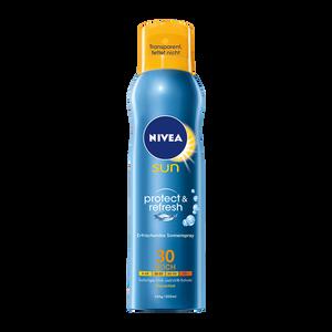 Bild: NIVEA Sun Schutz & Frische Sonnenspray LSF 30