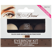 Bild: RK by Kiss Eyebrow Kit blackdarkbrown