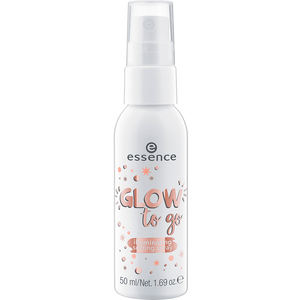 Bild: essence Glow to Go Illuminating Setting Spray