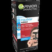 Bild: GARNIER SKIN ACTIVE Hautklar Anti-Mitesser Peel-off Maske mit Kohle & Salizylsäure