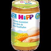Bild: HiPP Feines Gemüse mit Reis & Bio-Truthahn