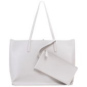 Bild: LOOK BY BIPA Shopper mit Pouch grau