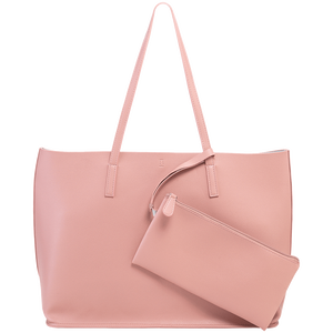 Bild: LOOK BY BIPA Shopper mit Pouch rosa