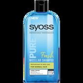 Bild: syoss PROFESSIONAL Pure Micellar Shampoo Fresh